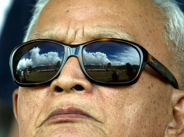 Unrepentant: Nuon Chea never admitted his guilt and denied being a war criminal. Photo: Reuters/Sukree Sukplang/File photo?