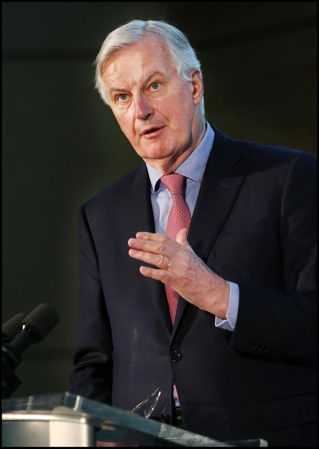 Michel Barnier's mandate was called into question. Picture: Steve Humphreys