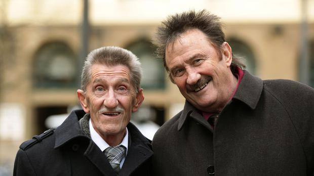 The Chuckle Brothers, Barry and Paul Elliott (PA)
