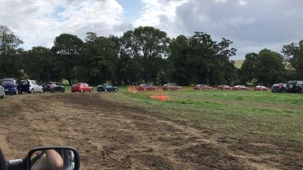 Festival goers faced further delays as they left All Together Now