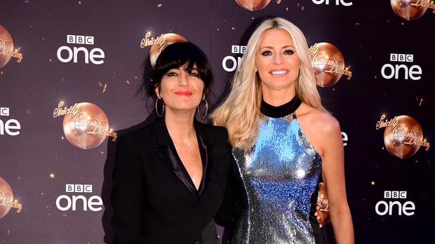 Strictly Come Dancing hosts Claudia Winkleman and Tess Daly (Ian West/PA)