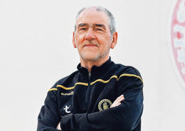 Straight call: Mickey Harte says the decision to sit out Peter Harte against the Dubs was nothing to do with his black-card peril. Photo: Brendan Moran/Sportsfile