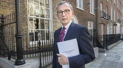 Inquiry: Dr Gabriel Scally has led a 14-month inquiry into the scandal. Photo: Tony Gavin