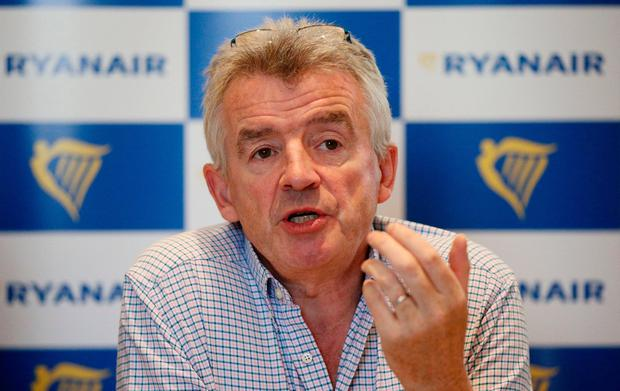 Michael O'Leary, CEO of Ryanair Photo: PA