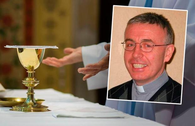 Father Tim Hazelwood (inset) criticised a call by Fr Walsh to ban certain personal items from funerals.