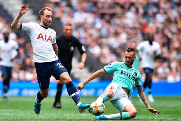 Tottenham Hotspur's Danish midfielder Christian Eriksen could be on the move. (Photo by Glyn KIRK / AFP)GLYN KIRK/AFP/Getty Images