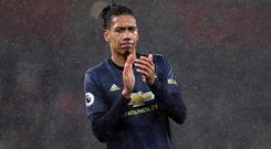 Chris Smalling is on his way to Roma