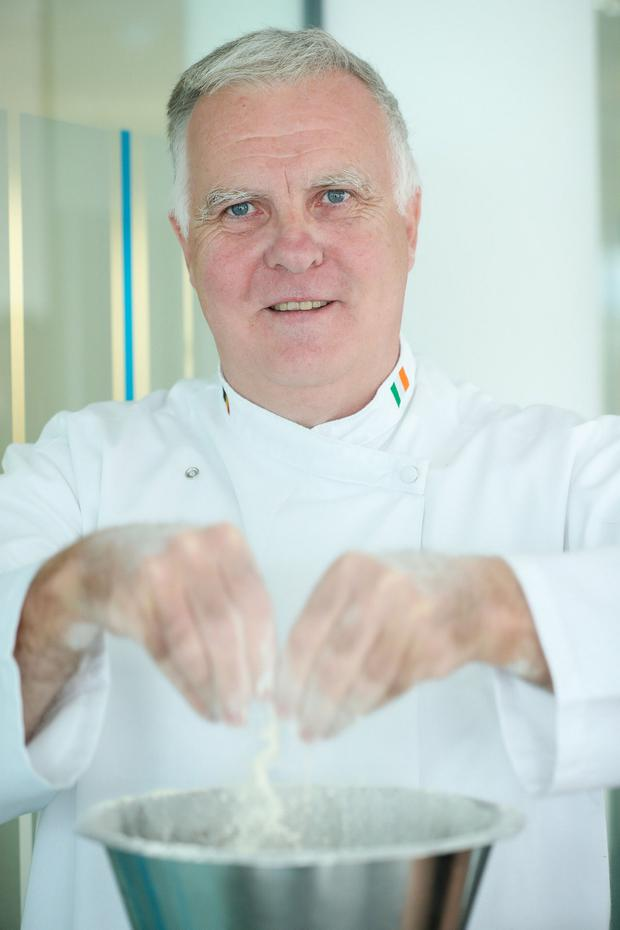 Niall Murphy retrained as a chef after 25 years in the motor industry. Photo: MAXWELLS DUBLIN