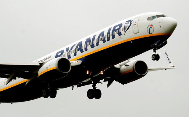 Ryanair long refused to recognise unions but reversed course last year after bungling its forward planning on pilot rosters in 2017, triggering mass flight cancellations (stock photo)