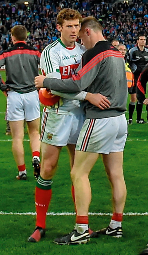 David Clarke and Rob Hennelly. Photo: Sportsfile