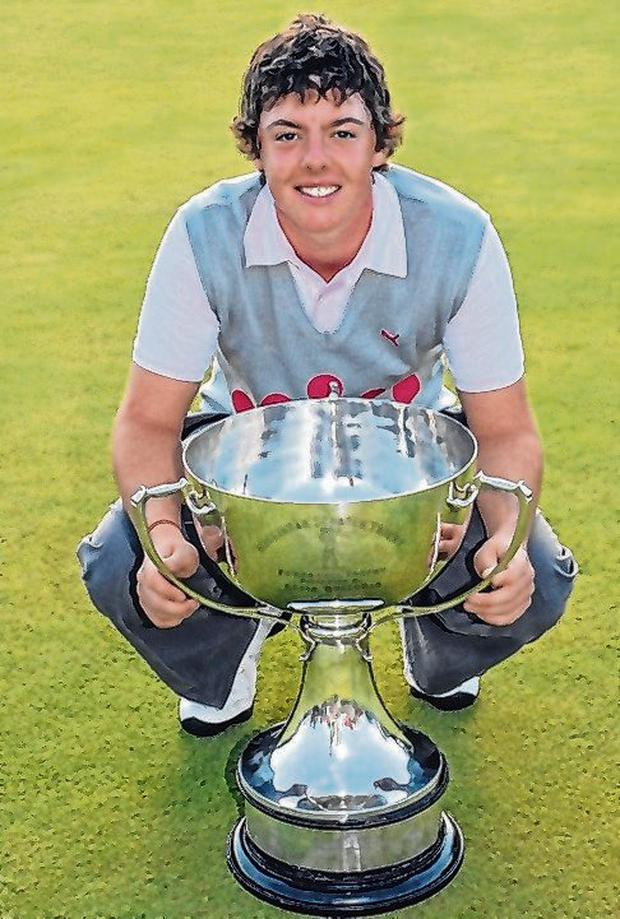 Rory McIlroy in 2006