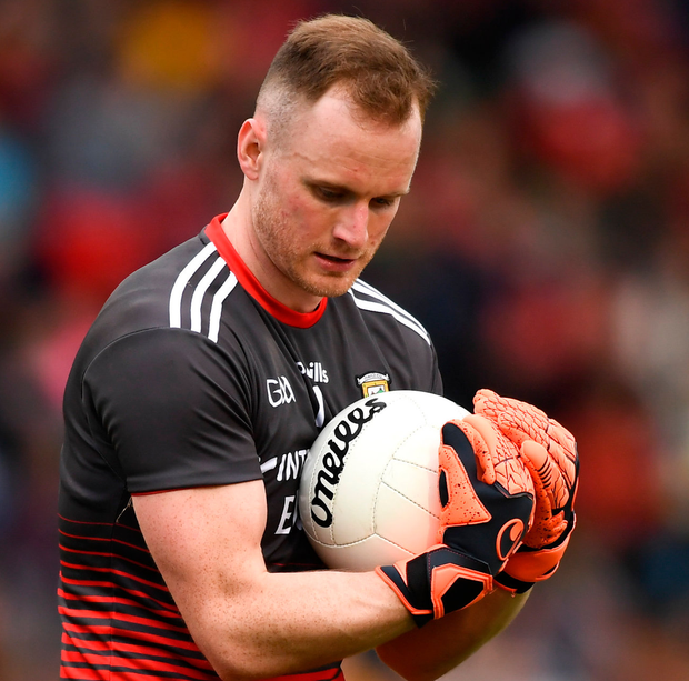 Mayo goalkeeper Rob Hennelly has had a roller coaster career