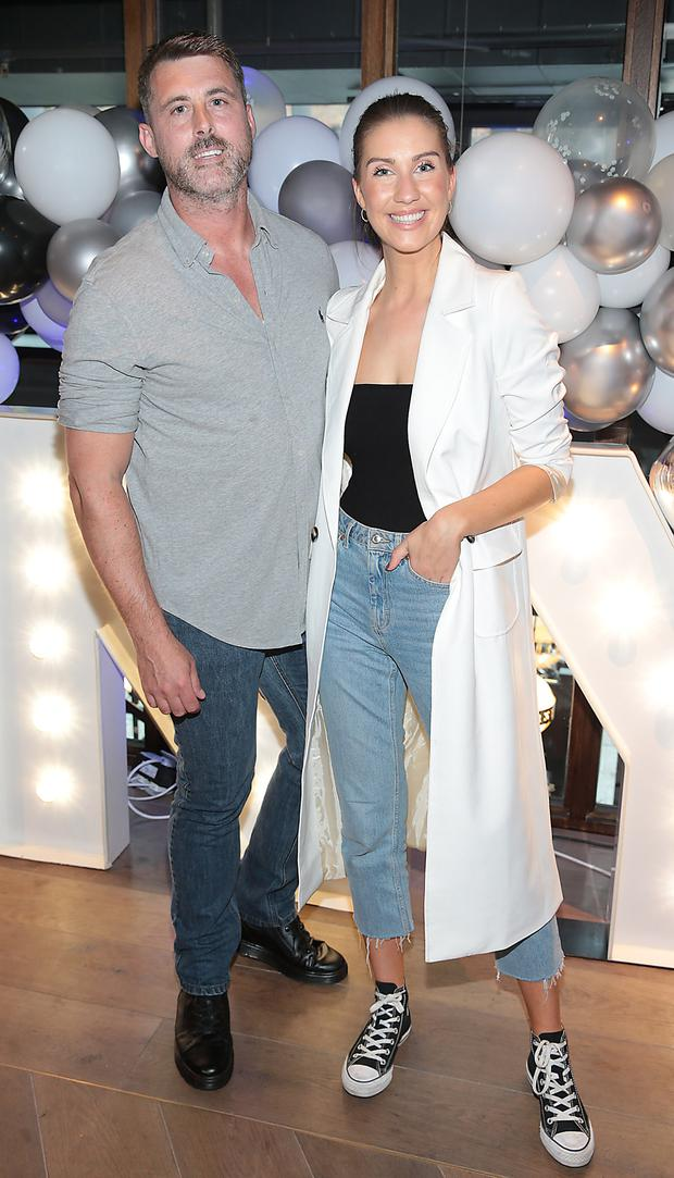 Billy Orr and Clementine MacNeice at the No One Does Makeup like Maybelline Party at Shelbourne Social, Dublin. Picture: Brian McEvoy