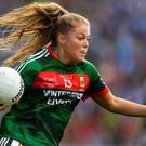 Mayo star Sarah Rowe. Photo: Brendan Moran/Sportsfile