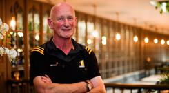 Kilkenny manager Brian Cody poses for a portrait following a press conference ahead of the GAA Hurling All-Ireand Championship Final at Langton House Hotel in Kilkenny. Photo: Sam Barnes/Sportsfile