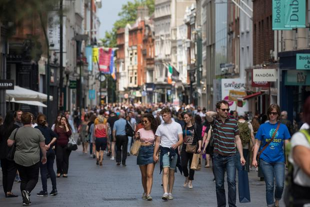 Spending: Irish price pressures likely to stay muted, according to economist Alan McQuaid. Photo: Bloomberg