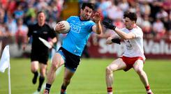 Michael Darragh MacAuley in action for Dublin. Photo: Oliver McVeigh/Sportsfile
