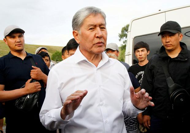 Kyrgyz former President Almazbek Atambayev. Photo: REUTERS/Vladimir Pirogov/File Photo