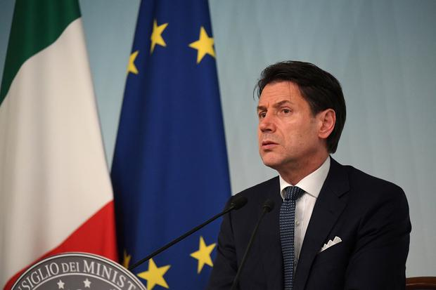 Italian Prime Minister Says Salvini Must Explain Reasons Behind Gov't Coalition Crisis class=