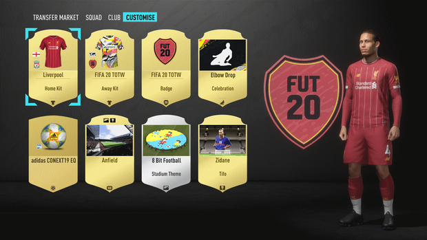 New tweaks to FUT allow more customisation of your club