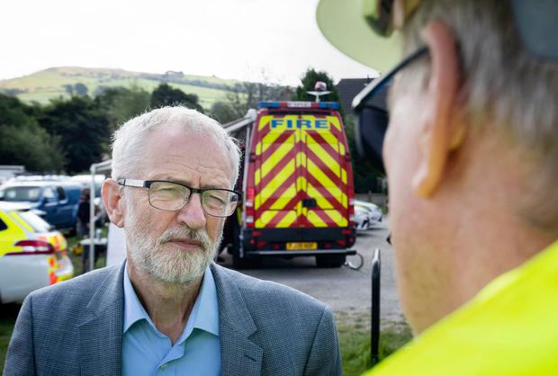 Demand: UK Labour leader Jeremy Corbyn has called for a ruling to stop Brexit being forced through during an election campaign. Photo: Danny Lawson/PA Wire