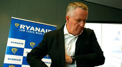 On the way out: Ryanair chief operations officer Peter Bellew has been named to fill the same role at rival EasyJet. Photo: Reuters