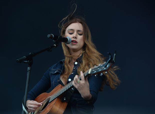 Una Healy on stage at the Farmer's Bash at East Strand in Portrush on Friday evening. Picture: Colm Lenaghan /Pacemaker