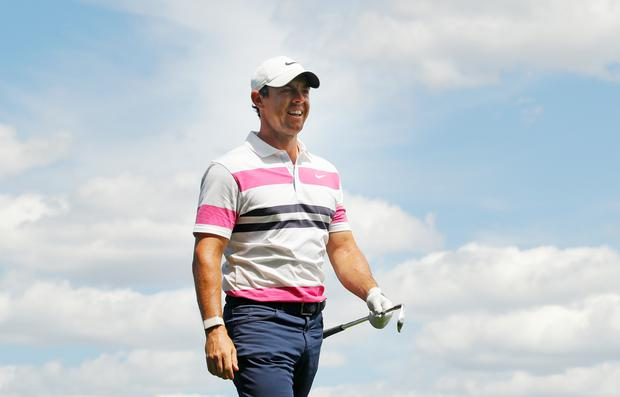 Rory McIlroy still in contention heading into the final round of The Northern Trust (Photo by Kevin C. Cox/Getty Images)