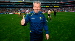 Kerry manager Peter Keane following the All-Ireland SFC semi-final at Croke Park in Dublin. Photo: Stephen McCarthy/Sportsfile