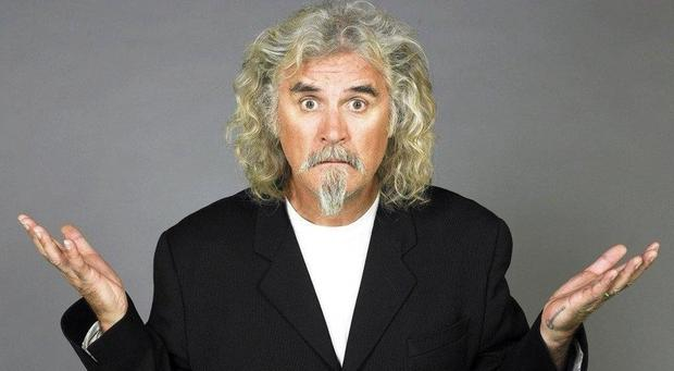 Star name: Billy Connolly is one of many top comedians who cut their teeth at the Edinburgh Fringe