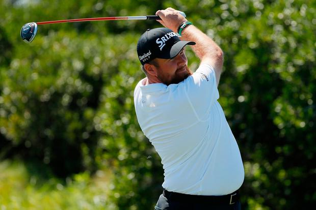 Shane Lowry birdied four of his last six holes to close with a two-over 73. Photo: Kevin C. Cox/Getty Images