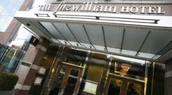 High value: The five-star Fitzwilliam Hotel saw turnover rise 9.6pc to €16.5mto