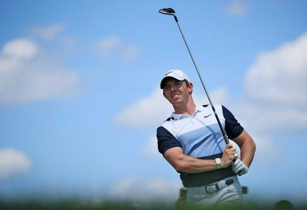 Rory McIlroy admitted he didn't take enough chances to get into the mix for a win in the final round