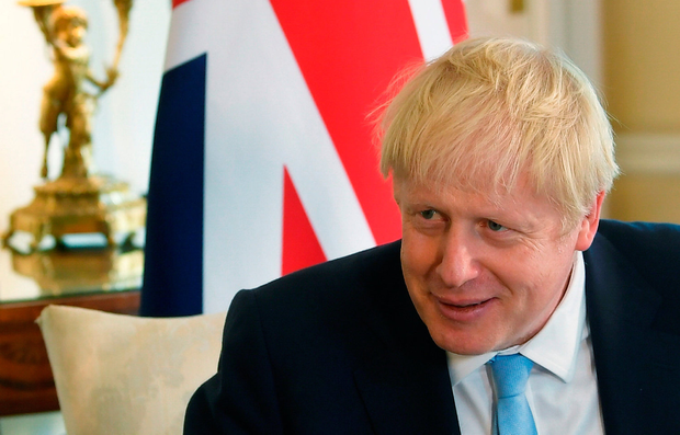 Showboater: UK Prime Minister Boris Johnson is scheduled to meet Leo Varadkar in the next few weeks. Photo: PA