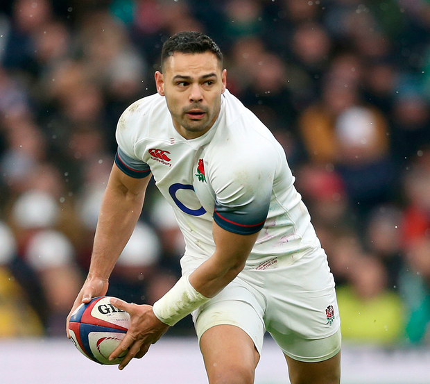 England have left out Ben Te'o from their World Cup squad in favour of Piers Francis, the Rugby Football Union has announced. Photo: Paul Harding/PA Wire.