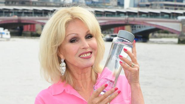 Joanna Lumley called for a tax on single-use plastics (Ian West/PA)