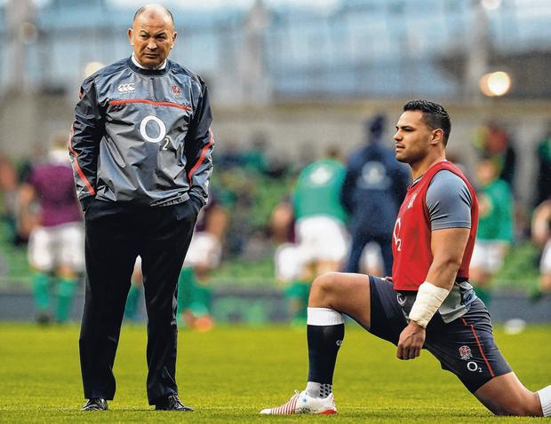Owen Farrell Eddie Jones has decided to leave Ben Te'o out of England's World Cup squad. Photo: AFP/Getty
