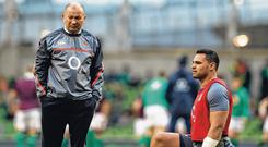 Eddie Jones decided to leave Ben Te'o out of England's World Cup squad. Photo: AFP/Getty