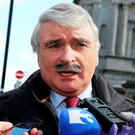 Action call: Willie O'Dea has told the Government to 'get off the fence'. Photo: Tom Burke