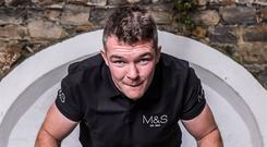 Marks and Spencer ambassador Peter O'Mahony says Ireland are monitoring the opposition ahead of the World Cup. Photo: INPHO/Dan Sheridan