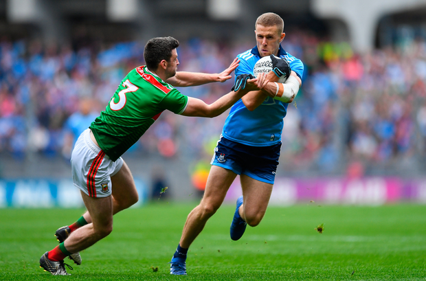 Last Saturday's Dublin v Mayo game drew people from all three groups – hence the scramble for tickets. From a support perspective, it was the first time this year that Dublin fans engaged en masse, as many of them couldn't be bothered to turn up for the Leinster and Super 8s games. Photo: Sportsfile