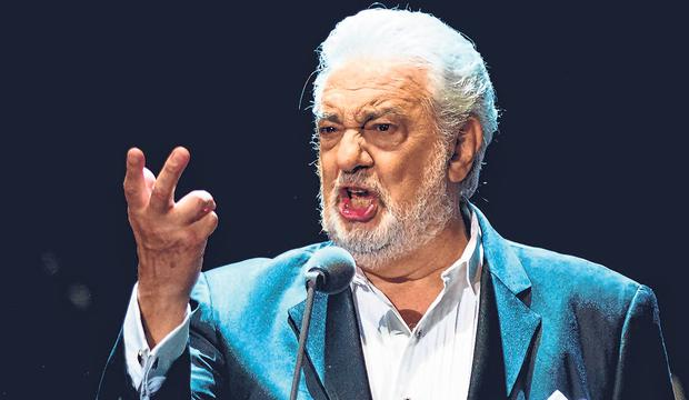 Denial: Plácido Domingo said he believed all his interactions were 'welcomed and consensual'. Photo: AFP