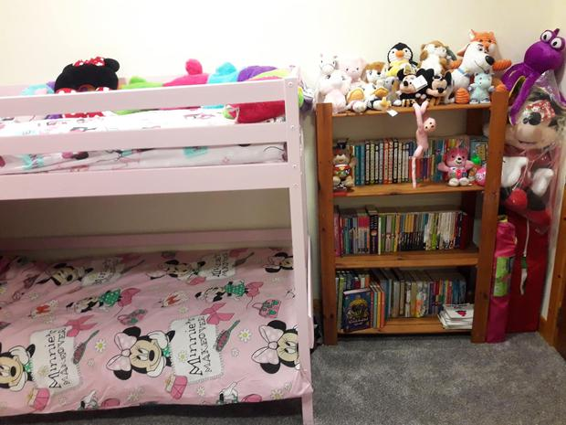Mark Lane has already decorated his daughter's room in Cork