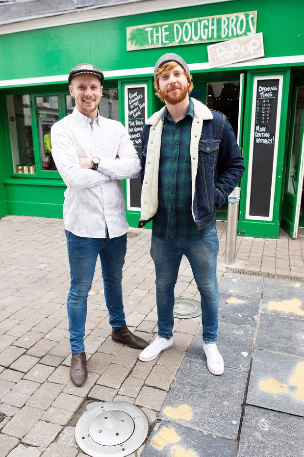 The dough brothers: Ronan and Eugene Greaney. Picture: Andrew Downes