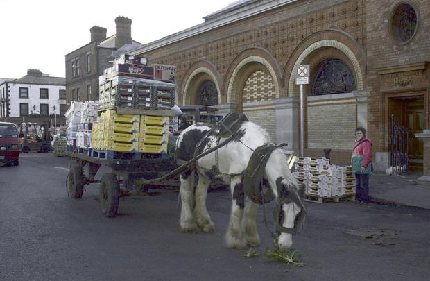 On the move: Smithfield market is to close on August 23. Picture: RollingNews.ie