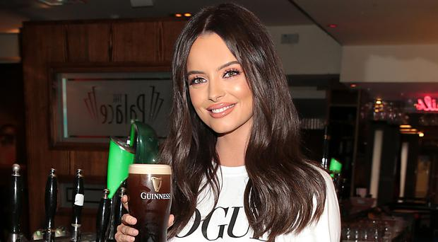 Maura Higgins at the Leaving Cert results party at the Palace Nightclub in Navan, Co Meath. Picture: Brian McEvoy