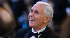 US vice president Mike Pence is set to visit Ireland in early September (Niall Carson/PA)
