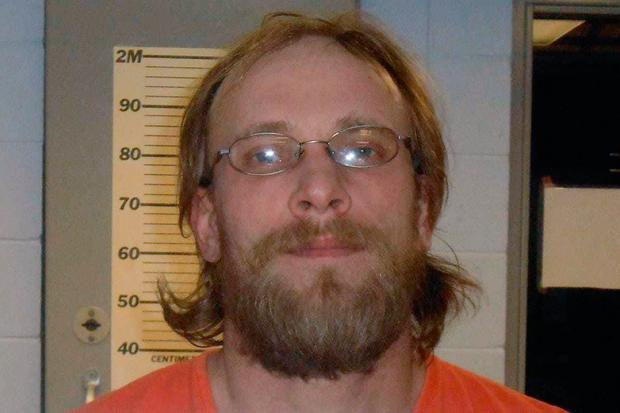 Jeremiah Button hid out for more than three years in a makeshift bunker (Portage County Sheriff's Department/The Post-Crescent via AP)