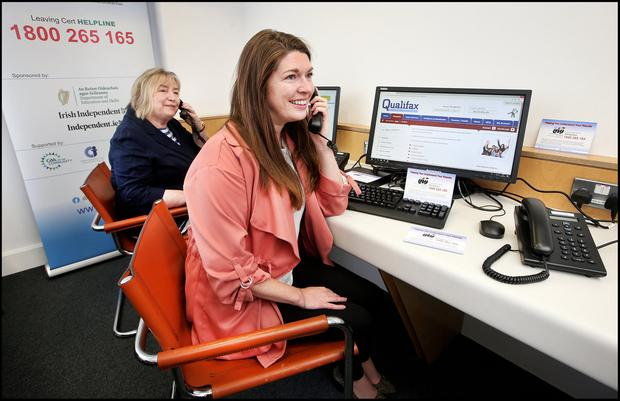 Within the first three hours of the release of the CAO offers, 200 calls were recorded at the helpline. Picture: Steve Humphreys