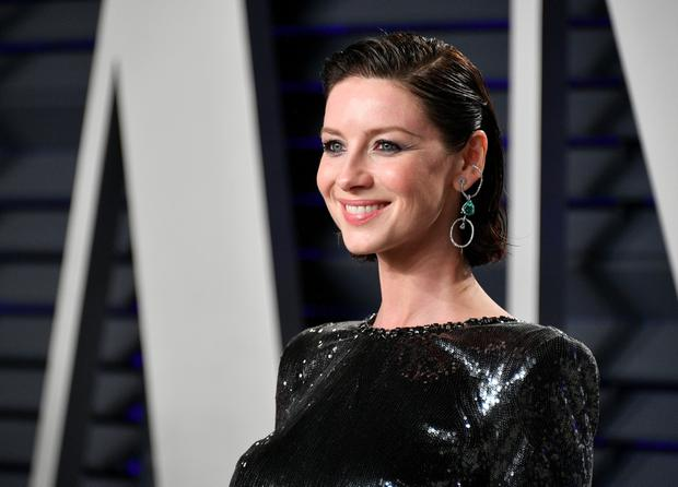 Caitriona Balfe attends the 2019 Vanity Fair Oscar Party hosted by Radhika Jones at Wallis Annenberg Center for the Performing Arts on February 24, 2019 in Beverly Hills, California. (Photo by Dia Dipasupil/Getty Images)